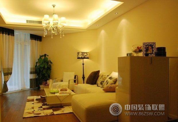 8万装修90平现代美家客厅装修图片高清图片