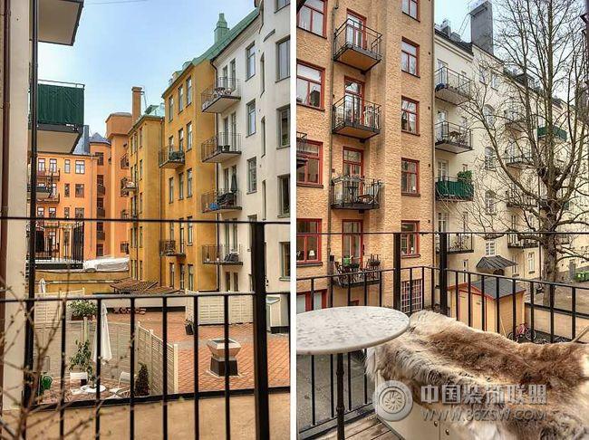 欧式公寓装修效果图