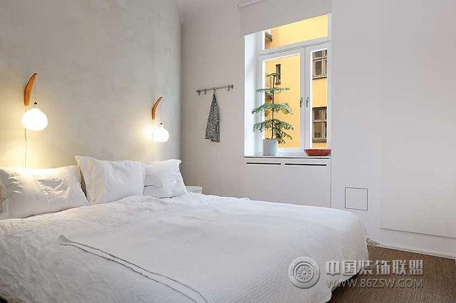 78平北欧风小公寓欧式装修图片