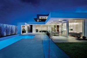 澳洲典雅地板奢华公寓 现代与古典的结合混搭风格公寓
