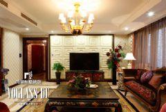 成都尚层别墅设计案例——万科五龙山欧式风格