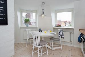 85平米瑞典屋顶公寓欧式风格公寓