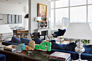 顶层复式公寓设计现代风格公寓