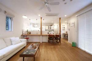 日本三口之家的86㎡现代风格小户型