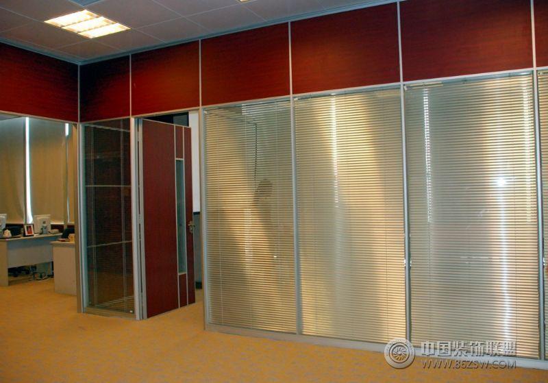 玻璃隔断,活动隔断 单张展示 办公室装修效果图 八六 中国 装饰联盟装修效果图库
