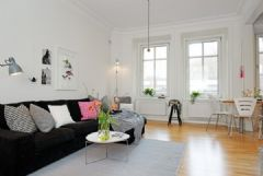 57平米白静简约的公寓