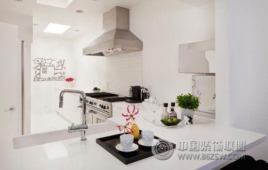 116㎡单身公寓简约厨房装修图片