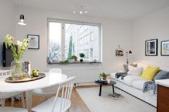 42平米北欧风格小公寓