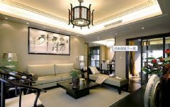 80平米二居中式风格装修