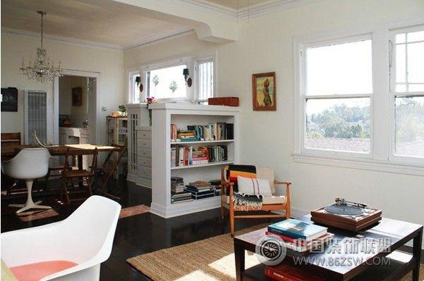 75平方米波西米亚公寓-书房装修图片