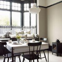 黑白餐厅经典设计