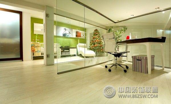 45平米梦幻般的公寓书房装修图片