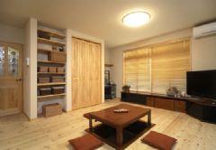 55平米mini日式风格两居室