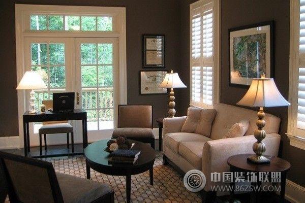 家居配色方案简约客厅装修图片