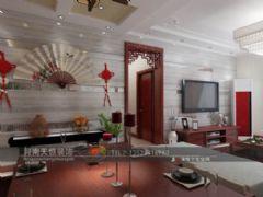 红影木韵 简约中式风格说明锦华之星小区中式风格