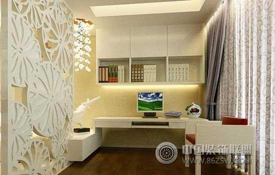 创意小户型案例-书房装修效果图-八六(中国)装饰联盟