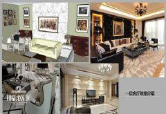 成都尚层装饰别墅设计案例混搭风格别墅
