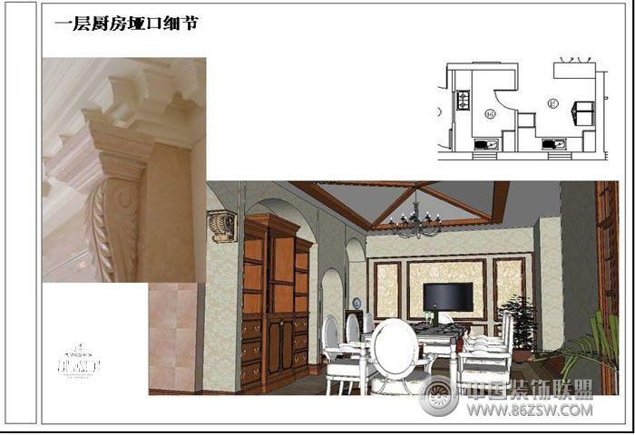 成都尚层装饰设计方案——美式风格-深圳市森度环艺-.