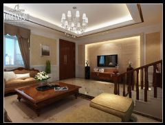 中海独墅岛现代风格别墅