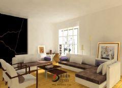 6万半包89平欧式两房欧式风格小户型