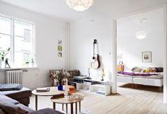 两居室效果 现代风格