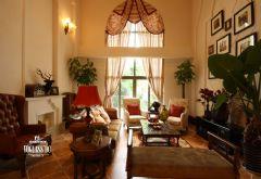 成都尚层装饰设计案例——美式乡村风格美式风格别墅