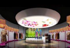 唐裝服飾-形象展廳設計