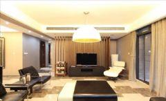 麓山国际-600平-成都尚层装饰现代风格别墅