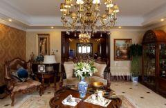成都尚层装饰——麓山国际设计案例美式风格别墅