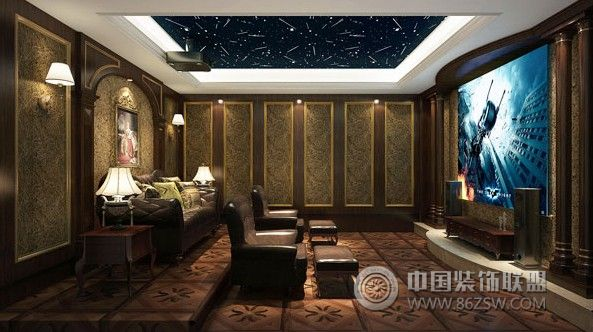 欧雅别墅-客厅装修效果图-八六(中国)装饰联盟装修(.图片