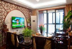 中式风格三室两厅两卫