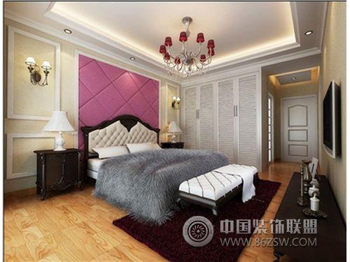 龙翔苑欧式风格卧室装修效果图