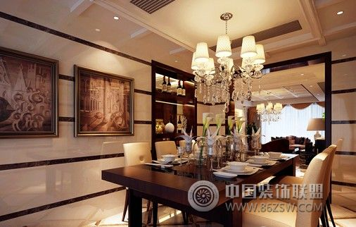 中式风格中式餐厅装修图片