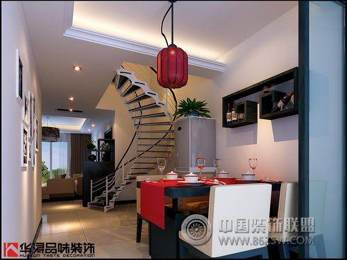 三衢美林整套大图展示_现代三居室复式装修效果图_八图片