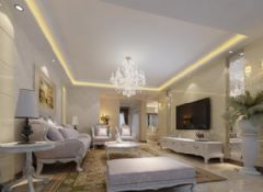 幸福家园欧式风格三居室