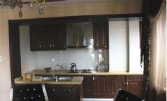 灏庭古典厨房装修图片
