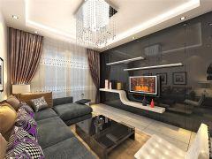 丰庆佳苑二居室现代风格现代风格二居室