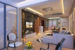 东方明珠9幢501现代风格三居室