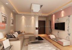 天津合苑新房装修简约风格小户型
