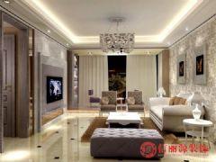 蔚蓝水岸现代风格三居室