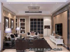 龙泉小区欧式风格三居室