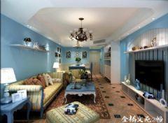 金桥文苑2幢地中海风格三居室