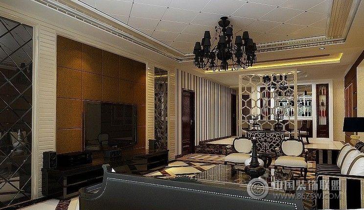 欧式风格整套房屋装修效果图