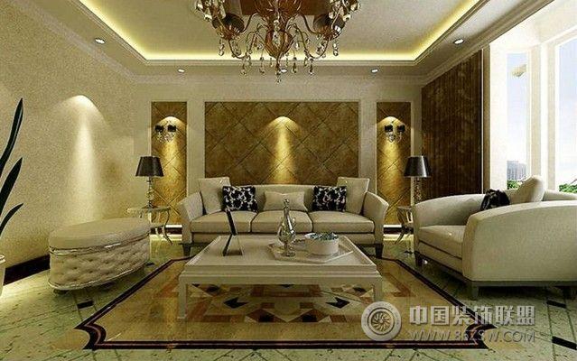 北张小区-客厅装修效果图-八六(中国)装饰联盟装修图