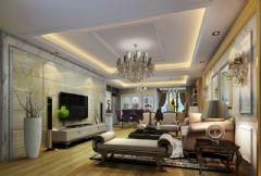 百瑞景中央生活区古典风格四居室