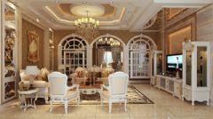 人信千年美丽欧式风格别墅