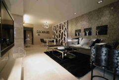 保利港湾国际-后现代现代风格三居室