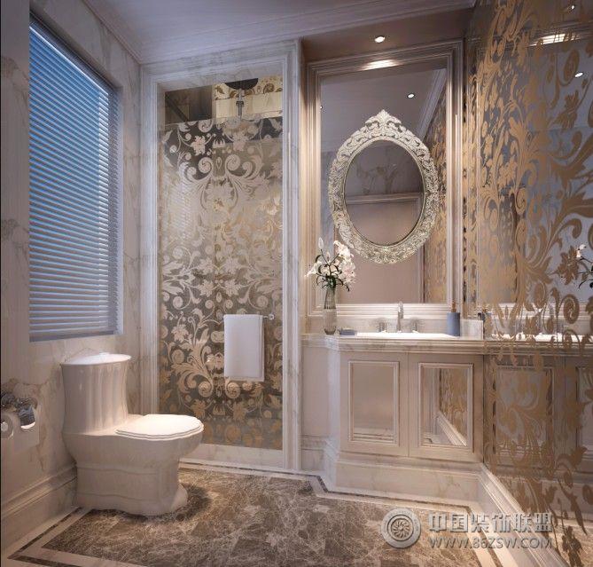 黃山大道-歐式風格歐式衛生間裝修圖片