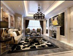 黄山大道-欧式风格欧式风格三居室