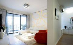 廊桥水乡-现代风格现代风格三居室
